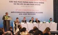 13. Dialog über Bekämpfung gegen Korruption