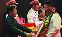 70 ausgezeichnete Soldaten und Polizisten geehrt