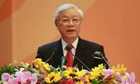 KPV-Generalsekretär besucht den Kreis Tieu Can in der Provinz Tra Vinh