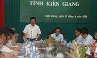 Festlegung des Grenzverlaufs in der Provinz Kien Giang läuft gut