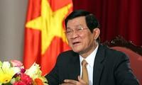 Der Staatspräsident überreicht Ernennungsentscheidung neuer Botschafter