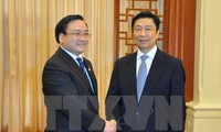 Vize-Premierminister Hai trifft Chinas Vize-Staatspräsident Li