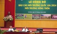 Veröffentlichung des Berichts über nationale Umwelt 2014