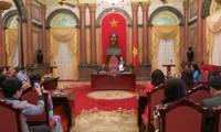 Nguyen Thi Doan trifft Vertreter des Rates vietnamesischer Unternehmer und Familien