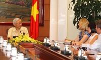 Vietnam und USA richten sich an die Zukunft