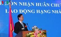 Feier zum 15. Gründungstag der Börse von Ho Chi Minh Stadt