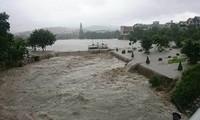 Premierminister Nguyen Tan Dung leitet die Beseitigung der Folgen von Überschwemmungen