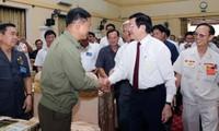 Staatspräsident Truong Tan Sang besucht Nghe An