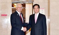 Premierminister Nguyen Tan Dung beendet seinen Malaysia-Besuch