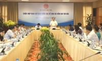Vize-Premierminister Hoang Trung Hai leitet Auszahlung der Entwicklungshilfe