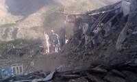 Fast 400 Tote bei Erdbeben in Südasien