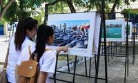 Ausstellung der Werke des Fotowettbewerbs über das Erbe Vietnams