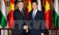 Premierminister Nguyen Tan Dung trifft Ungarns Präsident László Kövér