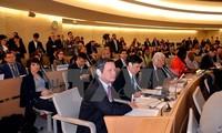 Seminar über Forschung und Erziehung im Bereich Menschenrechte