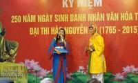 Tro Kieu: folkloristische  kulturelle Aufführungsart in der Heimat von Nguyen Du
