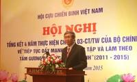 Veteranen lernen und arbeiten nach dem Vorbild Ho Chi Minhs