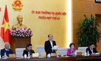 Abschluss der 44. Sitzung des ständiger Parlamentsausschuss