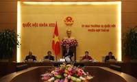 45. Sitzung des ständigen Parlamentsausschusses