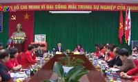 Staatspräsident Truong Tan Sang tagt mit dem Roten Kreuz Vietnam