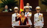 Wähler erwarten erste Parlamentspräsidentin