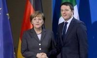 Deutschland und Italien verstärken Zusammenarbeit zur Lösung der Flüchtlingskrise