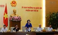 Abschluss der 50. Sitzung des Ständigen Parlamentsausschusses