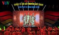 Eröffnung des internationales Festivals traditioneller vietnamesischer Kampfkunst