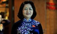 Vize-Staatspräsidentin Dang Thi Ngoc Thinh trifft den Assistenten des UN-Generalsekretärs