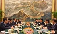 Partei, Staat und Volk Chinas respektieren Beziehungen mit Vietnam