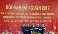 Provinzen Vietnams und Guangxi verstärken ihre Zusammenarbeit