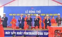 Nghe An: Spatenstich für Fabrik zur Containerherstellung