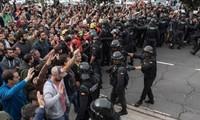 Unruhen in Spanien widerspricht Zielen und Idealen der EU