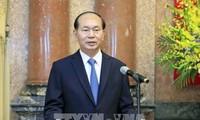 """Tran Dai Quang: """"APEC Vietnam 2017 – Aufbau der gemeinsamen Zukunft für die Welt"""""""