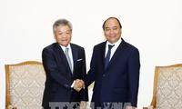 Premierminister Nguyen Xuan Phuc empfängt den Präsident des japanischen Konzerns Nikkei