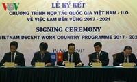 Vietnam und ILO unterzeichnen Kooperations-Programm über nachhaltige Arbeitsplätze
