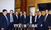 Nguyen Xuan Phuc nimmt an der Bilanzkonferenz des Ministeriums für Industrie und Handel teil