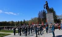 Russland feiert den Sieg über die Nazis