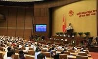 Pressekonferenz über Ergebnisse der 5. Parlamentssitzung