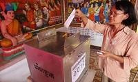 Kambodscha steht vor einer bevorstehenden wichtigen Parlamentswahl