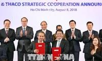Zusammenarbeit zwischen Unternehmen zur Modernisierung der Landwirtschaft