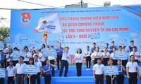 Freiwillige tragen zur sozialwirtschaftlichen Entwicklung in Ho Chi Minh Stadt bei