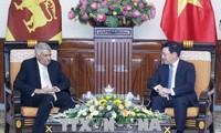 Vizepremierminister Pham Binh Minh trifft den sri-lankischen Premierminister