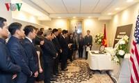 Gedenkfeier für den ehemaligen KPV-Generalsekretär Do Muoi im Ausland