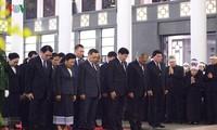 Delegationen aus dem In- und Ausland gedenken des ehemaligen KPV-Generalsekretärs