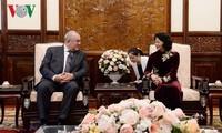 Interimsstaatspräsidentin Dang Thi Ngoc Thinh empfängt neue Botschafter in Vietnam