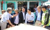 Delegation des Fischereiausschusses des Europäischen Parlaments besucht Haiphong