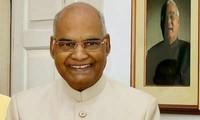 Indiens Präsident Ram Nath Kovind beginnt seinen Vietnam-Besuch