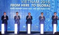 Premierminister Nguyen Xuan Phuc nimmt am nationalen Startup- und -Innovationstag teil