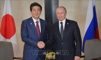 Russland und Japan streben Unterzeichnung des Friedensvertrags an