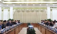 Ho Chi Minh Stadt lockt US-Unternehmen im intelligenten Verkehr an